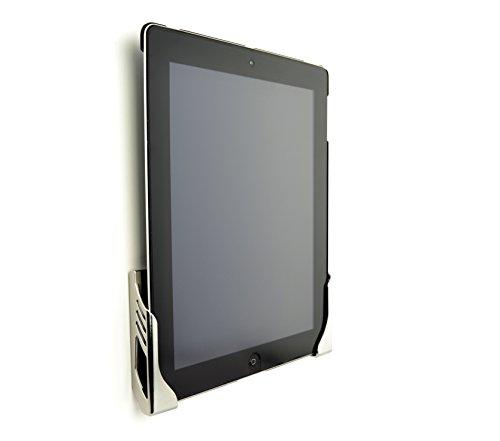 Dockem Koala Tablet Mount Wandhalterung - Beschädigungsfreie Universal-Wandhalterung für iPad, iPad Airs, Galaxy Tabs & andere Tablets (verchromter ABS-Kunststoff)