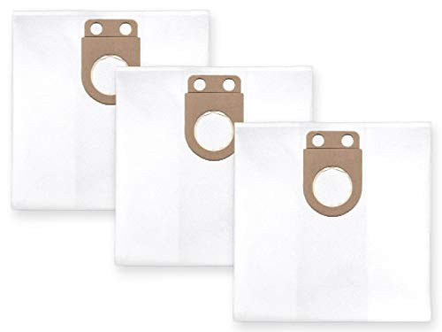 3x Vlies Staubbeutel Filtersack für FEINSTAUB/BAUSTAUB 6-lagig für Starmix ISC ARD-1425 EWS