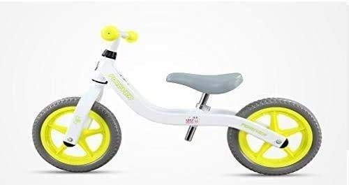 Kids Balance Bike,No Pedal Children Bicycle Walking Bike for 3-6Years Kids with Aluminium Alloy Frame Foam Tire Adjustable Saddle Training Bicycle Best Gift