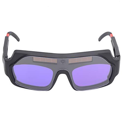 Gafas protectoras para soldador, gafas protectoras de ojos con atenuación automática y patillas ajustables Accesorios de soldadura YZ05