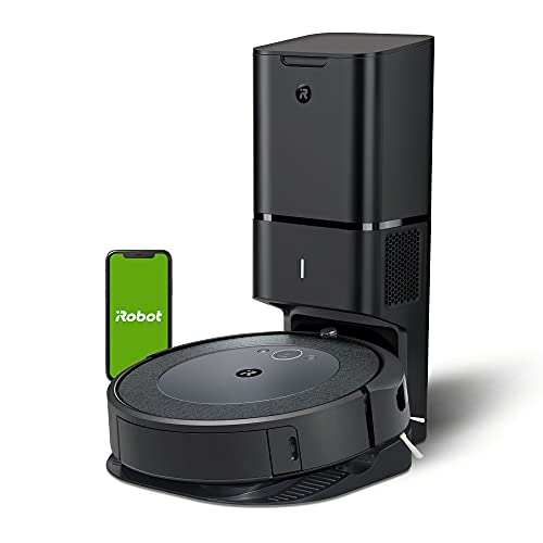 iRobot Roomba i3+ connected Mapping Robot Vacuum with Automatic Dirt Disposal - Voice Assistant and Imprint Link Compatibility 2-year Warranty on Robot -1-year on Battery