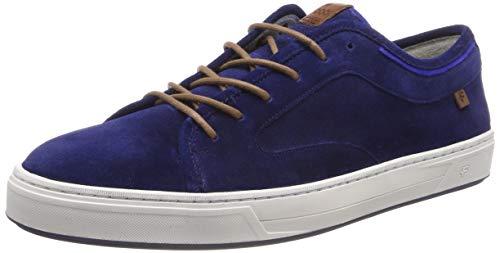 Floris van Bommel Herren 13466/02 Sneaker, Blau (Blue 02), 42 EU