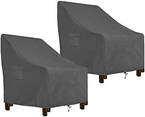 AKEfit 2 Pack Patio OFFer Chairs C Covers Furniture Waterproof Outdoor Selling rankings