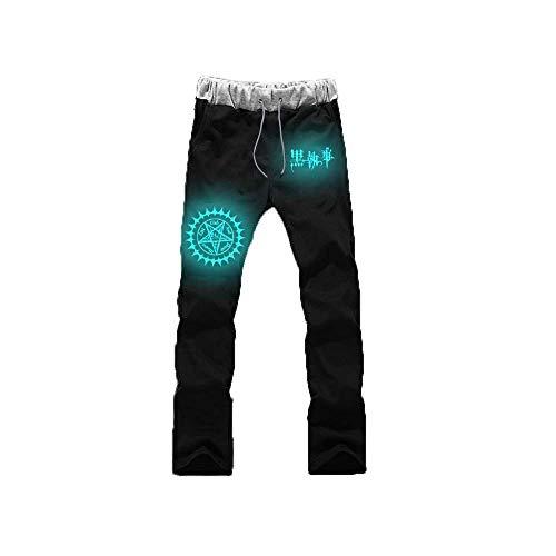 Mnijiein Pantalones De Jogging Hombres Mujeres Jogger Anime Black Butler Impresos Cosplay Gym Joggers Pantalones De Chndal De Ajuste Pantalones Deportivos Casuales Negro M