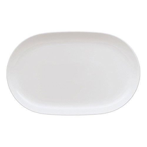 Arzberg Cucina Plat Coupe, Ovale, Plateau, Basic White, Porcelaine, 36 cm, 42100-590003-12736