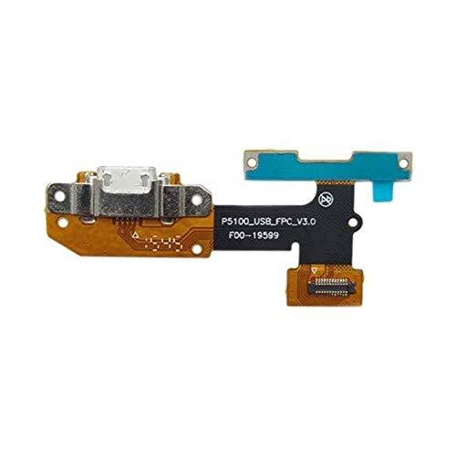 Pratici pezzi di ricambio per telefoni cellulari Set di riparazione/sostituzione/sostituzione Cavo flessibile di ricambio for porta di ricarica for Lenovo YOGA Tab 3 10 pollici YT3-X50L YT3-X50f Y