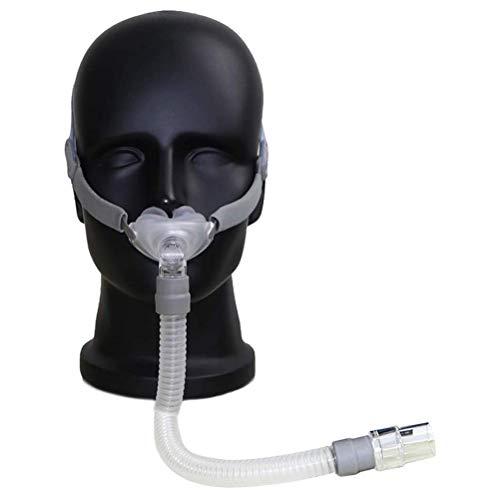 Taie d'oreiller nasale avec coussins de harnais Aide au sommeil pour le ronflement (réglable)