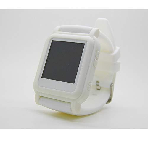 YUHUANG Reloj MP4, para TXT e-Book Reloj de Emergencia e-Book MP4 Estudiante música cronómetro Escuchando canción Video Imagen U Disco Reloj pequeño Regalo (8GB),B