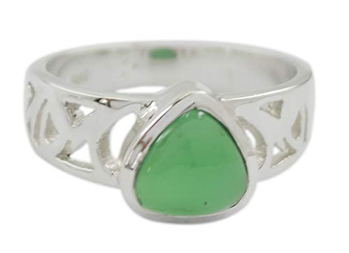 rgpl heißen Edelstein grünen Onyx Silberringe Schmuck Design-Software-RGPL-SRGONCB-10019-62de