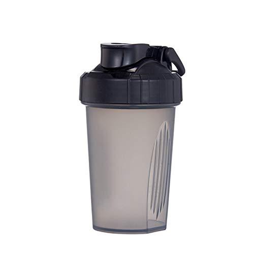 LSGMC Blenderbottle Classic Shaker Bottle Perfect for Protein Shakes, 450ml,Black
