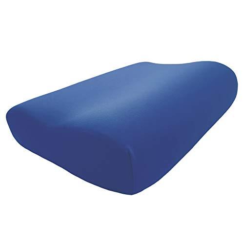 Edda Lux - Funda para almohada Tempur Original QUEEN S/M/L/XL, 61 x 31 cm, 60 x 30 cm, para almohada cervical, 100% algodón   colore: Cobalto