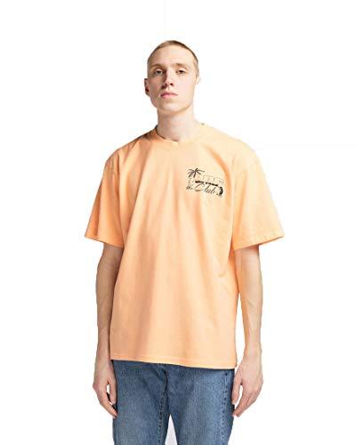 Edwin One 4 The Road T Shirt Uomo Girocollo Stampata Cantaloupe (S)