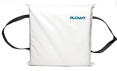 Flowt 40104 Type IV Throwable Floatation Foam Cushion, USCG Approved, White