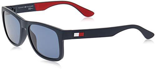 Tommy Hilfiger TH 1556/S Gafas de sol, Multicolor (BL REDWHT), 56 para Hombre