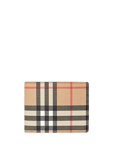 Luxury Fashion   Burberry Heren 8017470 Beige Polyurethaan Portemonnees   Lente-zomer 20