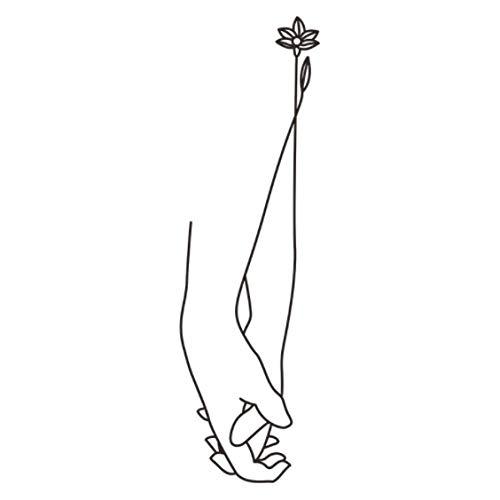 Amantes Creativos Tomados De La Mano Pegatina De Pared Día De San Valentín Decoración De Boda Mural Arte Calcomanías Papel Tapiz Para Decoración Del Hogar Pegatinas