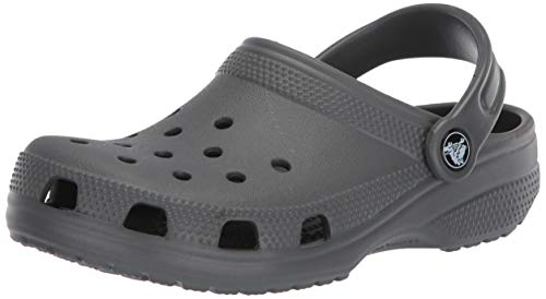 crocs Women's Classic Mule Slate Grey - 10 US Men/ 12 US Women M US