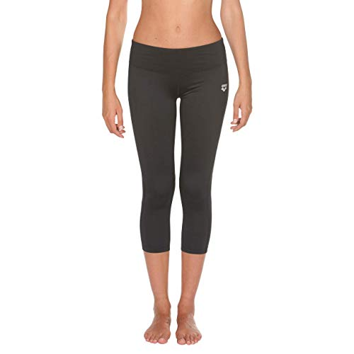 Arena W Gym Tights, Leggings Sportivi 3/4 Donna, Nero (Black/Black), M