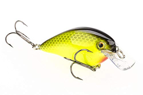 Strike King Square Bill 1.5 Crankbait, KVD Cataouatche Special, 7/16-Ounce