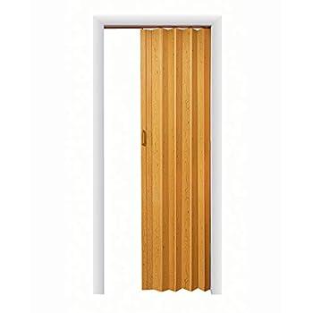 LTL Home Products OK3680K Oakmont Interior Multifold Folding Accordion Door Oak