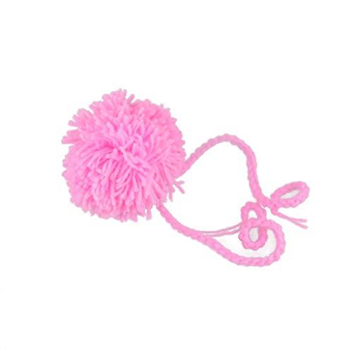 S-TROUBLE Accesorios de fotografía para recién Nacidos Trajes de bebé Ropa de Sombrero de Punto de Ganchillo de Conejo de bebé Ropa
