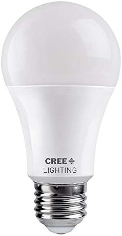 Cree Lighting A19 100W Equivalent LED Bulb 1600 lumens Dimmable Daylight 5000K 25 000 Hour Rated product image