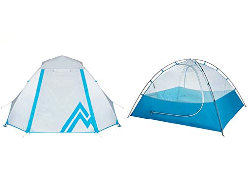 Isabella 2 Person Camping Tent, Buiten bergbeklimmen camping winddichte regentent Drie seizoen dubbele camping tent
