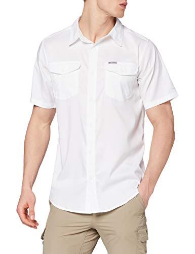 Columbia Herren Utilizer II Kurzarm-Hemd, Weiß, L