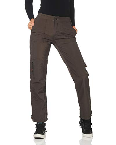 FY Pantaloni Termici da Donna Pantaloni da Sci da Sci Outdoor Pantaloni da Trekking Funzionali Pantaloni da Trekking Cargo Foderati in Pile