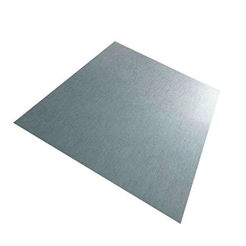 Zerobegin Tôle de Titane, Plaque de Titane Mince en métal de Haute pureté, tôle d'alliage TA2,...