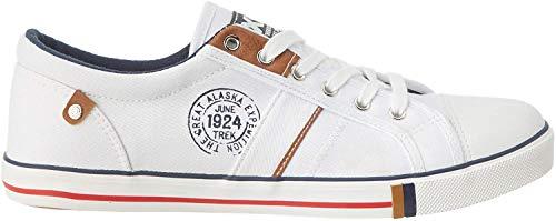 XTI Herren 49651 Sneaker, weiß, 43 EU