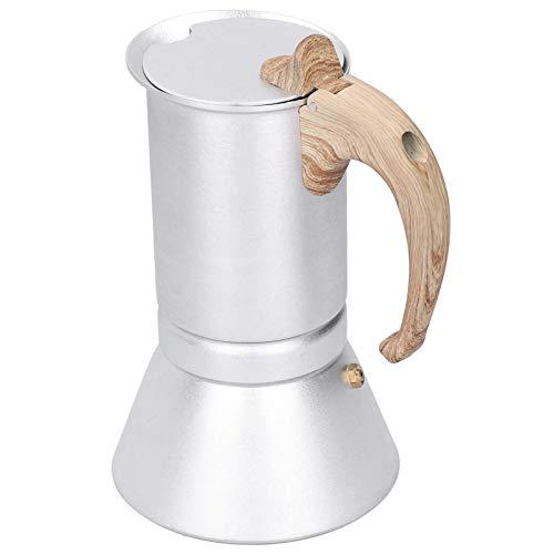 Kaffekanna, Kaffekanna med stor kapacitet Kaffekanna, Trähandtagskontor för induktionshäll Elektrisk keramikugn Hem