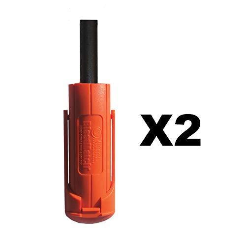 UST Ultimate Survival Technologies BlastMatch Fire Starter Orange Striker (2-Pack)