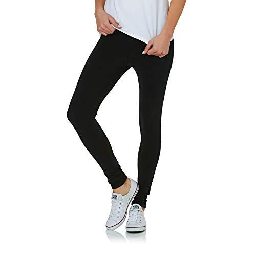 Converse Core Reflective Wordmark Leggings Damen, schwarz, L
