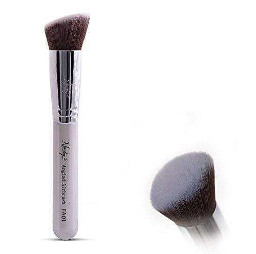 Nanshy Flat Angled Definer Buffer Makeup Brush dichter Pinsel mit leicht angeschrägtem Pinselkopf