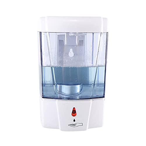 Dispenser di Sapone A Parete Senza Contatto Dispenser di Sapone per Micromotore A Scarico di Liquido Quantitativo A Induzione Intelligente - Bianco