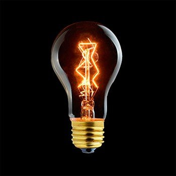 Laes 984613 LED Estándar Vintage E27, 40 W, 95 x 170 mm