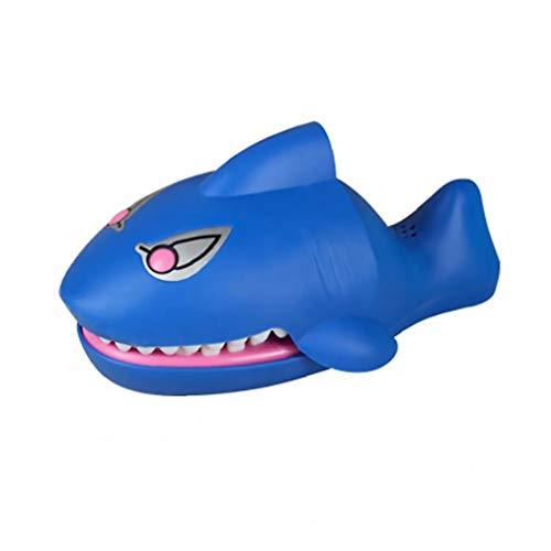 Dedo penetrante forma juego dibujos animados Shark eléctrico mordedores Juguetes Multi Función...