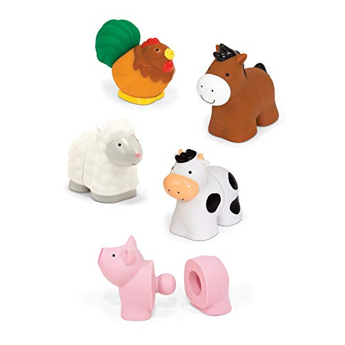 Pop Blocs Farm Animals Educational Baby Toy