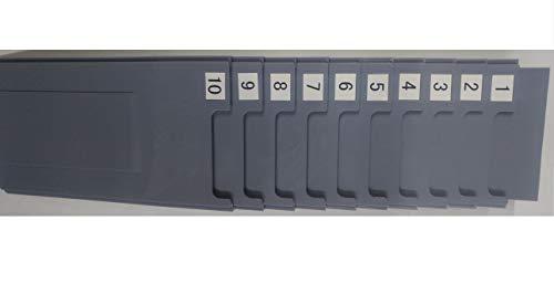 Kartenhalter 10-fach für ET401MT/C rechnende Stempeluhr
