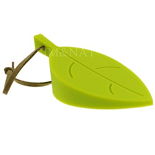 SIM&NAT 4 PCS Multicolor Leaf Durable Rubber Door Stop,Door Secure Stop Wedge,Door Protector,Doorstopper,Finger Protector