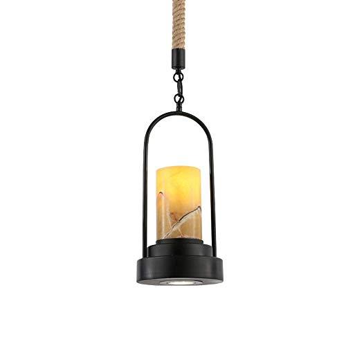 Luz colgante de la granja Luz industrial colgante ligera del vintage para la sala de estar de la isla de la cocina, clara XYJGWDD