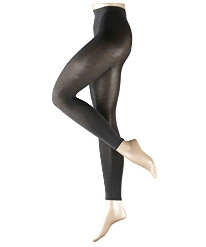 FALKE Damen Cotton Touch Leggings, Grau (Anthramix 3499), M (40-42)