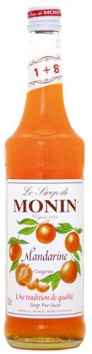 Le Sirop de Monin Mandarinen Sirup 1:8 0,7 l Flasche