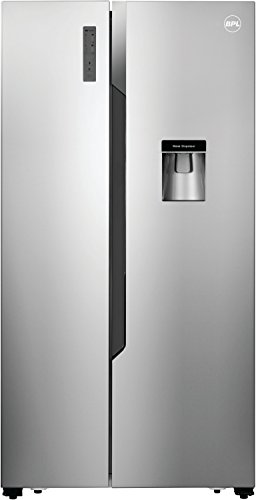 BPL 564 L Frost Free Side-by-Side Refrigerator(BRS564H, Steel)