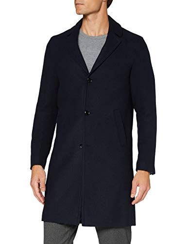 Sisley Men's Coat Jacket, Blue 901, 48