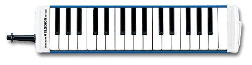 SUZUKI スズキ 鍵盤ハーモニカ メロディオン アルト 32鍵 M-32C 日本製 美しい響きの金属カバーモデル ハードケース