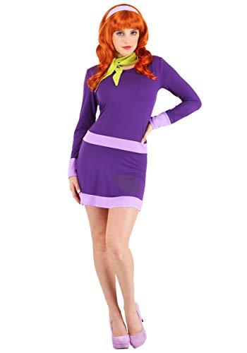 Women's Plus Size Scooby Doo Daphne Fancy Dress Costume 3X