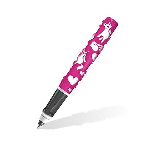 Staedtler Bolígrafo Unicornio con sobresalientes spürbar motivos de la impresora 3d, zauberfhafte Unicornio de magia en rosa y blanco, ancho de línea fresca 0.5mm, 9d401t5wu1