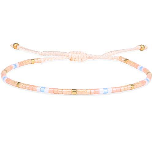 KELITCH 2020 Neue Miyuki Gemischt Strang Armbänder Armreifen Handgemachte Boho Freundschaft Armband für Frauen